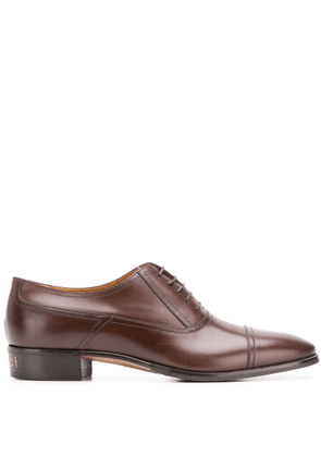 Gucci lace-up Oxford shoes - Brown