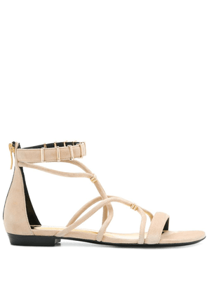 Barbara Bui open-toe strapped sandals - NEUTRALS