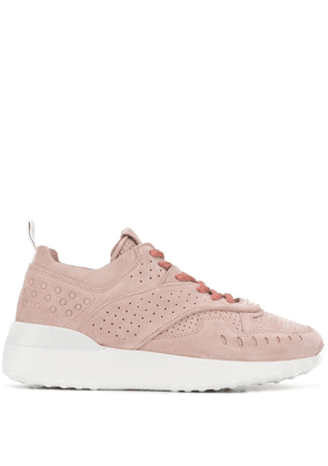 Tod's perforated sneakers - PINK