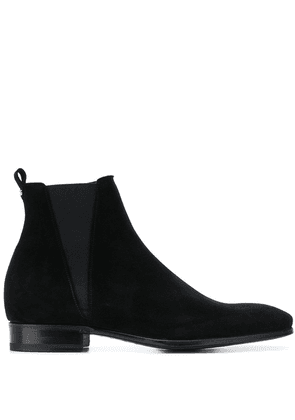 Dolce & Gabbana zip-up ankle boots - Black