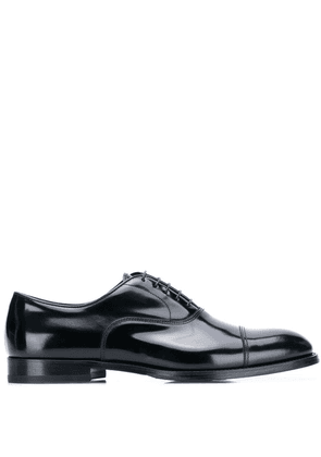 Doucal's classic oxford shoes - Black