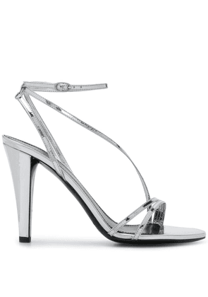 Isabel Marant arora high sandals - SILVER