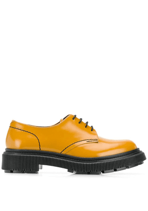 Adieu Paris chunky brogues - GOLD