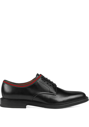 Gucci leather lace-ups - Black