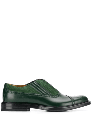 Gucci lace-up brogues - Green
