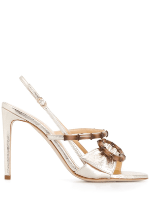 Chloe Gosselin Celeste heeled sandals - GOLD