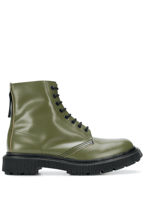 Adieu Paris x Etudes lace-up boots - Green