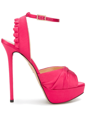 Charlotte Olympia Serena sandals - PINK