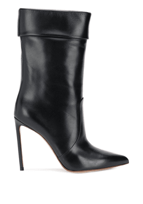 Francesco Russo pointed stiletto boots - Black