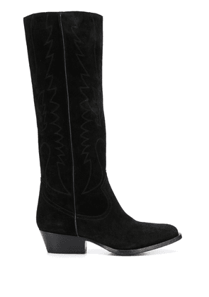 Buttero knee-length boots - Black