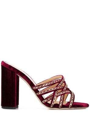 Chloe Gosselin Yara sandals - Red