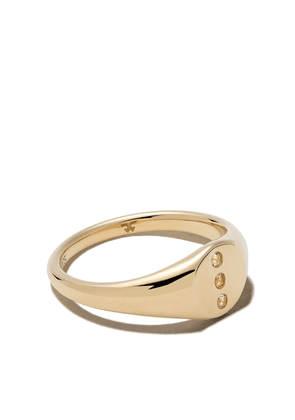 Tom Wood 9kt yellow gold Eiril diamond ring - 9KT YELLOW GOLD ROCK