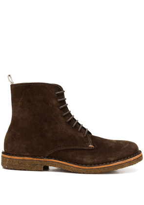 Astorflex lace-up ankle boots - Brown