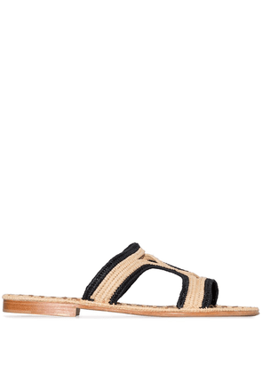 Carrie Forbes Moha two-tone sandals - Black