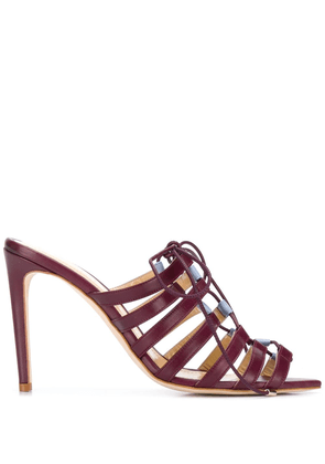 Chloe Gosselin Kristen sandals - Red