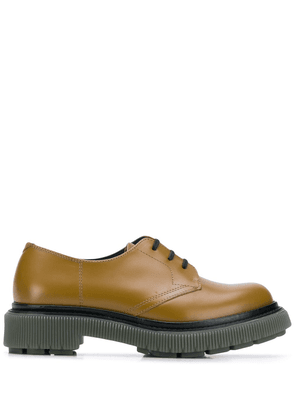 Adieu Paris chunky sole oxford shoes - NEUTRALS
