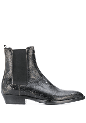 Buttero distressed Chelsea boots - Brown