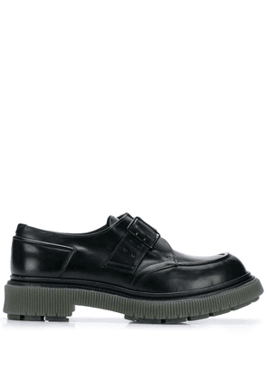 Adieu Paris chunky sole oxford shoes - Black