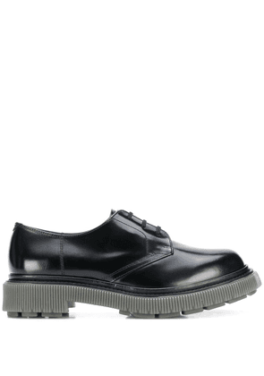 Adieu Paris chunky sole Derby shoes - Black