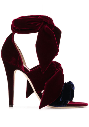 Gia Couture 100mm Katia pumps - Red