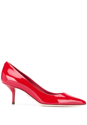 Dolce & Gabbana pointed pumps - Red