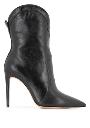 Alexandre Birman rounded-top ankle boots - Black