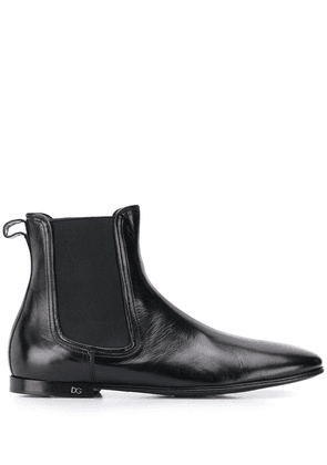 Dolce & Gabbana ankle chelsea boots - Black