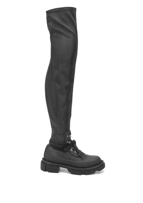 Both Gao stretch boots - Black