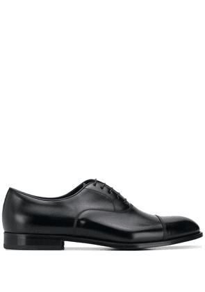 Doucal's lace-up oxford shoes - Black