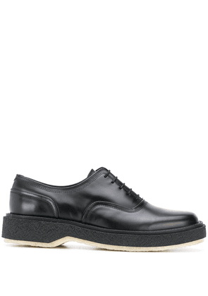 Adieu Paris chunky sole oxfords - Black