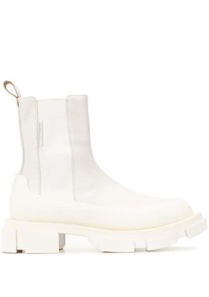 Both Gao chelsea boots - White