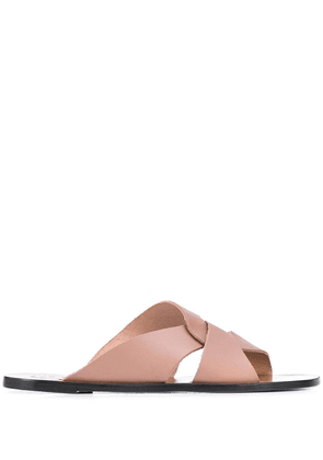 ATP Atelier Allai twisted strap sandals - PINK