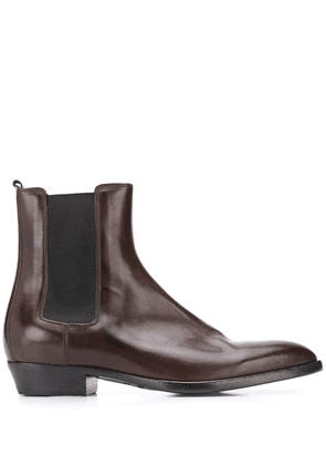 Buttero ankle chelsea boots - Brown