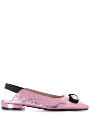 Coliac crystall embellished pumps - PINK