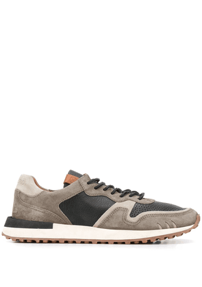 Buttero panelled low-top sneakers - Grey