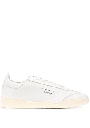 Ghoud lace-up low-top shoes - White