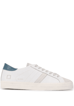 D.A.T.E. low-top lace up sneakers - White