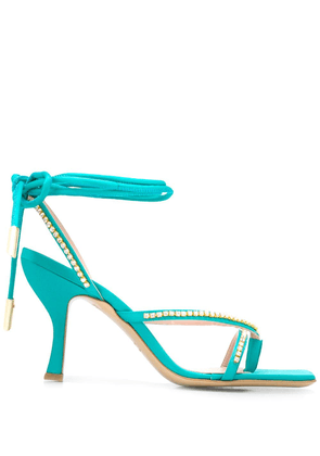Gia Couture Hayley open-toe sandals - Blue