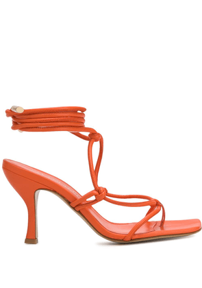 Gia Couture Aimee wrap-around sandals - ORANGE