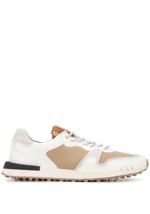 Buttero panelled low-top sneakers - NEUTRALS