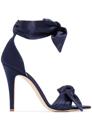 Gia Couture Katiusha 120 bow strap sandals - Blue