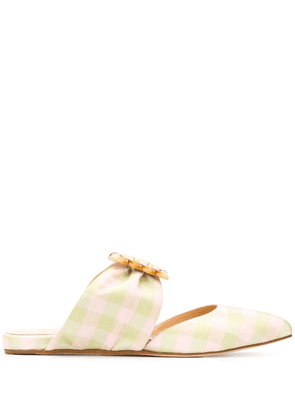 Chloe Gosselin Nataysha 20mm slippers - Green