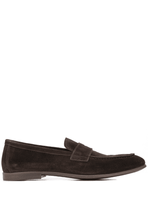 Doucal's Elba penny-strap loafers - Brown