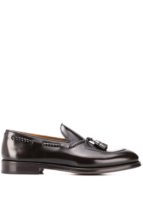 Doucal's tassel detailed loafers - Brown