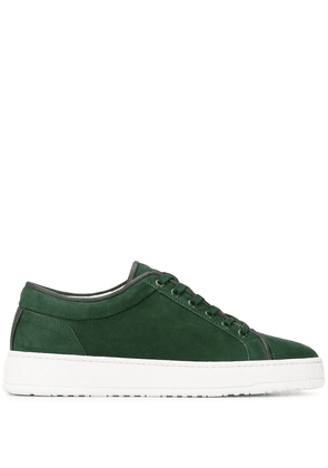 Etq. low lace-up sneakers - Green