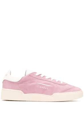 Ghoud Venice textured style sneakers - PINK