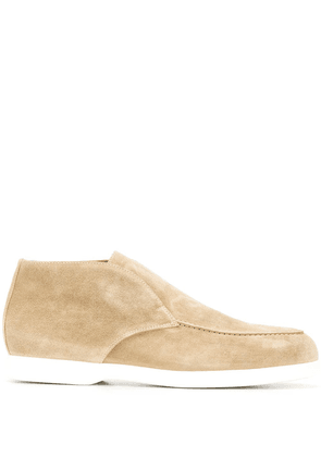 Doucal's slip-on ankle boots - NEUTRALS