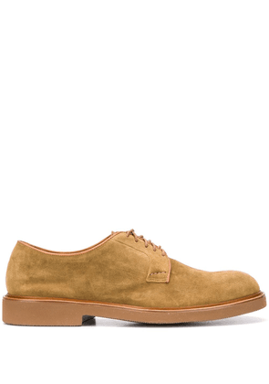 Doucal's low heel oxford shoes - Brown