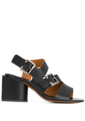 Clergerie low block heel sandals - Black