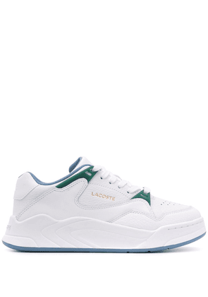 Lacoste Court Slam lace-up sneakers - White